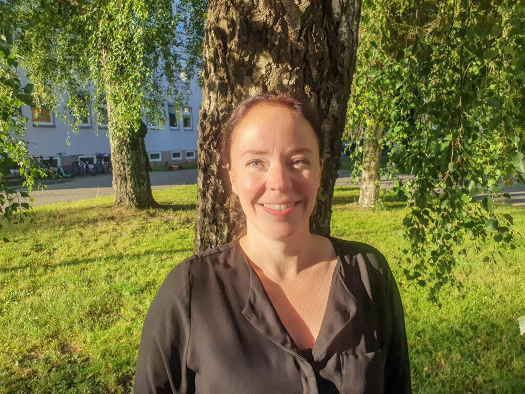 Bilde av ny leder Notak